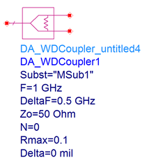 Placed-Microstrip-Wilkinson-Divider